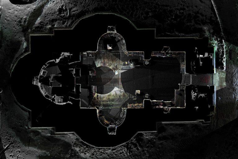 Plan Biserica Interioara